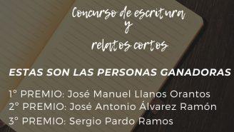 """Personas ganadoras del concurso """"Sensaciones del Confinamiento"""""""
