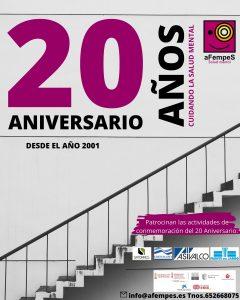 Folleto actos 20 aniversario